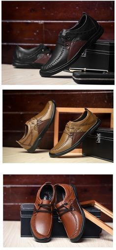 Men Dress Shoes Handmade Comfortable Soft Driving Genuine Leather Shoes Multicolour Patch Business Meeting Formal Wedding Shoes