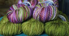 Darnassus Colorway, Matching Mossy Green Semisolid-
