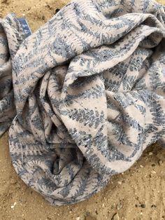 Sling Studio Bracken Jurassic coast Wrap (tussah-silk)