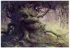 Jean-Baptiste Monge jbmonge | Illustrator Character Designer | Canada | Old wise Willow - final