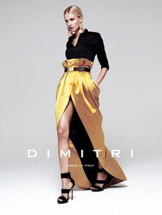 Dimitri Spring Summer 2015 campaign Model: Caroline Schrödl Photographer: Magnus Lechner Photo -Asisstant: Michele Di Dio Hair & Makeup: Sigi Kumpfmüller Styling: Valerie Uckermann #bydimitri #dimitri #dimitrifashion #madeinitaly #campaign #fashion #spring #summer #ss15 #womenswear