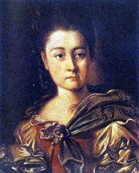 Варвара Ивановна Прозоровская, дочь отставного генерал-аншефа (в замужестве Суворова).