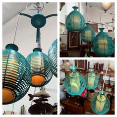 Mid Century 3 Tier Ceiling Lamp Fixture by greencycledesignLA, $725.00