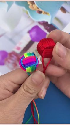 Rope Crafts, Ribbon Crafts, Easy Crafts, Diy And Crafts, 10 Year Old Boy, Origami Art, Jewelry Making Tutorials, Easy Projects, Preschool Activities