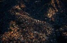 A view of Petare shantytown, east of Caracas, Venezuela, taken on February 15, 2012. (Leo Ramirez/AFP/Getty Images)