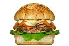 MEDEME! SUPER QUEIJO: Pão Especial, medalhão de filé mignon (+-200g) ao molho cigano, catupiry, cheddar, queijo mozzarella e folhas de rúcula.