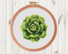 Check out our pattern modern selection for the very best in unique or custom, handmade pieces from our shops. Cactus Cross Stitch, Simple Cross Stitch, Modern Cross Stitch, Cross Stitch Flowers, Easy Cross Stitch Patterns, Cross Stitch Designs, Embroidery Art, Cross Stitch Embroidery, Needlepoint Designs