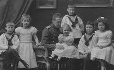 The Duke of Wurrtemburg and his children.