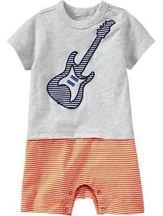 2-in-1 Tee & Short Graphic Bodysuits for Baby | Old Navy