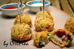 CHEFika ile Çay Saati: Pirinçli Ispanak Topları