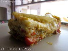 cuketove lazane Zucchini, Cooking Recipes, Pasta, Dishes, Vegetables, Ethnic Recipes, Indie, Lasagna, Cooking