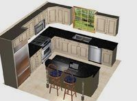 18 Wonderful Kitchen Remodel Traditional Ideas Kitchen Layout Kitchen Designs Layout Ranch Kitchen Remodel