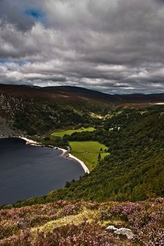 Lough Tay in WIcklow County, Ireland Copyright: Sylvain Kerdreux