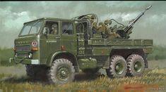 Military Weapons, Military Art, History Museum, Military Vehicles, Mammals, World War, Monster Trucks, Marvel, Illustration