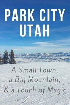The small, colorful town of Park City, Utah is doing big things. Find out why my winter trip to Park City exceeded my expectations!