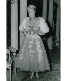 Marjorie Merriweather Post on her fourth, and last wedding day as she marries Herbert May.