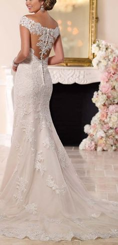 Could be nice for a beach wedding. Sweetheart Off the Shoulder Mermaid Wedding Dress - Cute Dresses. http://www.cutedresses.co/product/sweetheart-off-the-shoulder-mermaid-wedding-dress/