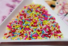10g Colorful sprinkles for fake sweets by JstuffSale on Etsy