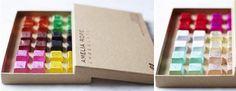Originales packagings de chocolate