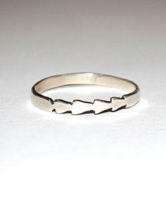 Silver Tomahawk Ring