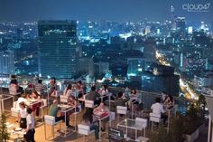 21 Best Rooftop Bars in Bangkok Rooftop Bar Bangkok, Best Rooftop Bars, Go Guide, Rooftop Party, United Center, Giving Back, Cool Bars, Bangkok Thailand, Stunning View