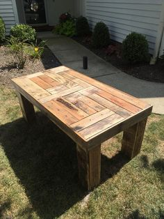 DIY Coffee Table from Pallets | 101 Pallets