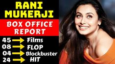 Rani Mukerji Hit And Flop All Movies List With Box Office Collection Analysis, Rani Mukerji is one of the talented actress of Bollywood film industry. Bollywood Box, Bollywood News, Bollywood Movies List, Upcoming Movies 2020, Rani Mukerji, Box Office Collection, Bollywood Updates, Thriller Film, Blockbuster Movies