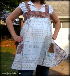 "Taking the Leap… into Sewing Maternity Patterns from the blog  ""Sew Fearless""...she has a wonderful site!"