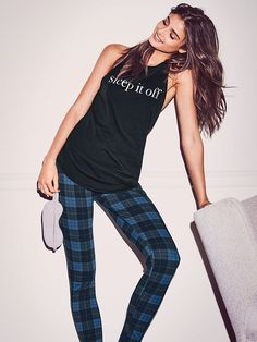 Taylor Marie Hill for Victoria's Secret Cute Pjs, Cute Pajamas, Pajamas Women, Taylor Hill Style, Taylor Marie Hill, Glamour, Sexy, Leggings, Luxury Lingerie