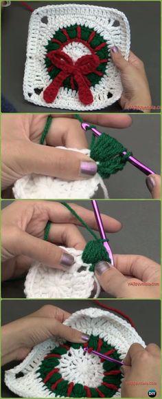 Transcendent Crochet a Solid Granny Square Ideas. Inconceivable Crochet a Solid Granny Square Ideas. Granny Square Crochet Pattern, Granny Square Blanket, Crochet Squares, Crochet Granny, Crochet Motif, Crochet Yarn, Crochet Flowers, Granny Squares, Free Crochet Square