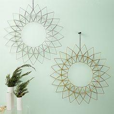 Dara Wire Wreaths | CB2