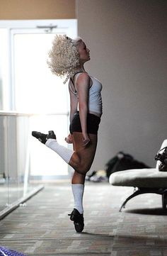 This is quite possibly my favorite Irish Dance related photo of all time. The power, the grace, the motion in the hair, I just love it.