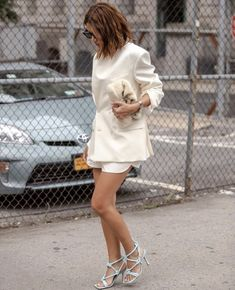 chanel bags & cigarette drags Christine Centenera, St Style, Different Dresses, Girl Boss, What I Wore, Outfit Of The Day, Fashion Show, Street Wear, White Dress