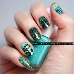 DIY Nail Art Ideas  Love, love, love this manicure!