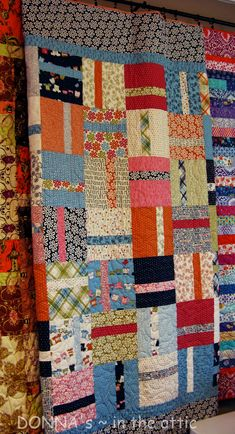 Piece of Cake - Lucy's Crab Shack Quilt Lap Quilts, Scrappy Quilts, Small Quilts, Quilt Blocks, Patch Quilt, Scrap Quilt Patterns, Block Patterns, Canvas Patterns, Quilt Display