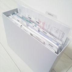 あれこれ便利無印のファイルボックスを使った収納実例3つ