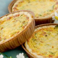 Crab and Watercress Tartlets with a Hint of Chilli