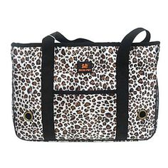 ViCreate Classic Leopard Portable Carrier Bags for Pets Dogs Cats (S-L) >>> Check out the image by visiting the link.