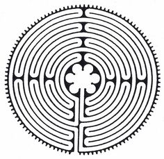 Mandala Madness: Here's a Labyrinth Template to Play With