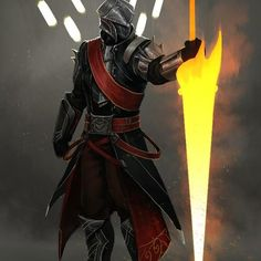 The Knight by Josh Corpuz on ArtStation.