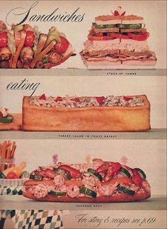 Meal-size Sandwiches, 1956