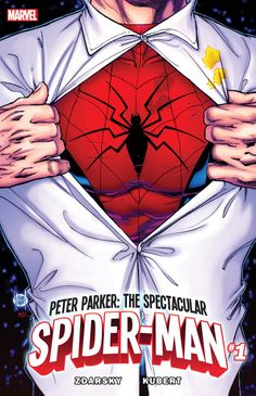 Chip Zdarsky's Peter Parker: The Spectacular Spider-Man goes back to basics  Spider-Man has had an eventful few years. In the pages of his main comic, <i>Amazing Spider-Man</i>, Peter Parker has recently become a tech millionaire running his own company. As fun as it's been to watch Peter become a technological powerhouse like Tony Stark, Marvel fans have been clamoring for a …  http://ew.com/books/2017/02/14/chip-zdarsky-peter-parker-spectacular-spider-man/