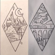Harry Potter tattoo ideias