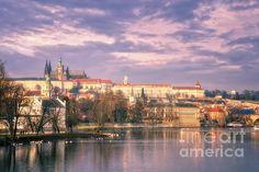 Title  Pastel Prague Morning   Artist  Joan Carroll   Medium  Photograph - Digital Photograph