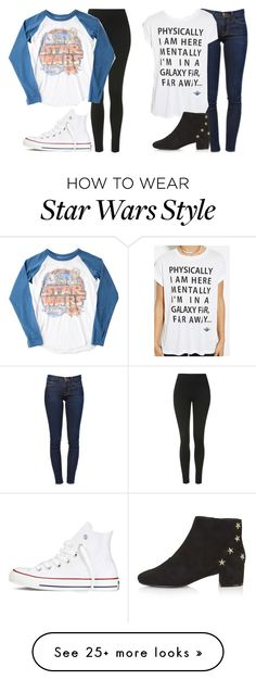 """jade insp - star wars marathon"" by littlemixmakeup on Polyvore featuring Topshop, Junk Food Clothing, Converse, Frame Denim, Forever 21, women's clothing, women, female, woman and misses"