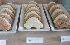 Car shaped sandwiches