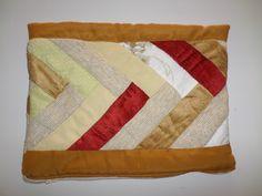 Porta noteboock em patchwork. Artesã Eliane David.