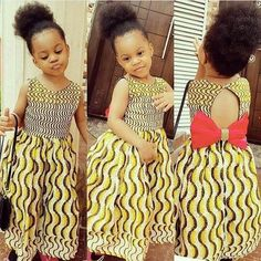 Robe Africaine Pour Petite Fille, Robe Africaine Fillette, Styles  Vestimentaires Africains, Mode Fillette