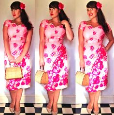 Malibu Tiki Dress  Vintage Wardrobe: Dresses and Skirts ...