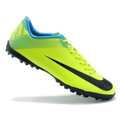 reputable site dd794 488fa Mens Nike Mercurial Superfly III FG Indoor Soccer Shoes Football Boots In  Green Blue Black Cheap Cleats